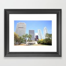 Miami Framed Art Print