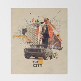 The City 1968 Throw Blanket