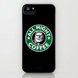supercoffee iPhone Case