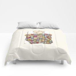 sleeping child Comforters
