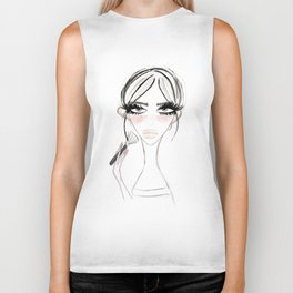 Morning Make Up Biker Tank