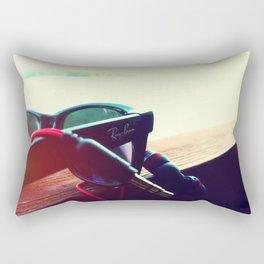 Music & Sun Rectangular Pillow