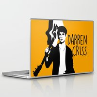 darren criss Laptop & iPad Skins featuring Darren Criss with guitar! by byebyesally