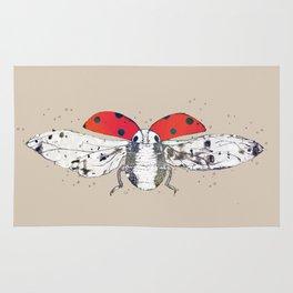 Ladybug - spread your wings Rug