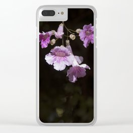 Delicate Pink Clear iPhone Case