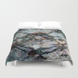 iDeal - Chaos Theory - Slate Duvet Cover