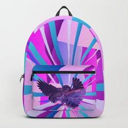 Stardust Owl Crystal Flare Backpack