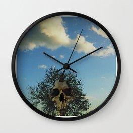 skull tree Wall Clock