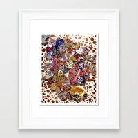 bali Framed Art Prints featuring Bali by koopkol