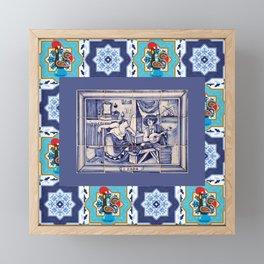Fado Portugal Framed Mini Art Print