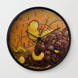 Roten chestnut Wall Clock
