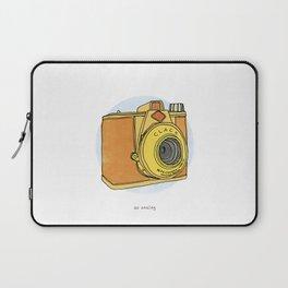 So Analog - Agfa Clack Retro Vintage Camera Laptop Sleeve