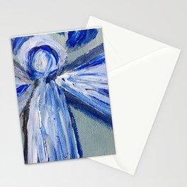 Impressionistic Angel Stationery Cards