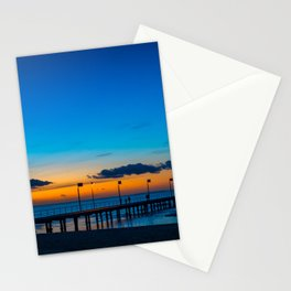 Frankston Pier Sunset Stationery Cards
