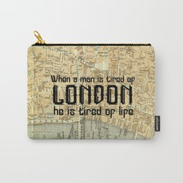 London Type Carry-All Pouch