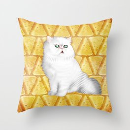 Manchego of Vhamster Throw Pillow