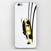 audi iPhone & iPod Skins featuring Quattro S1 by Cale Funderburk