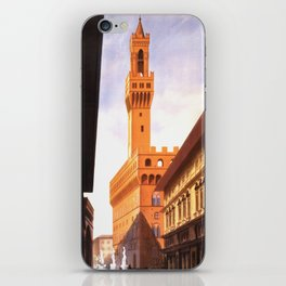 Vintage Florence Italy Travel iPhone Skin