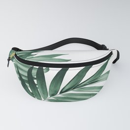 Palm Leaves Tropical Green Vibes #3 #tropical #decor #art #society6 Fanny Pack