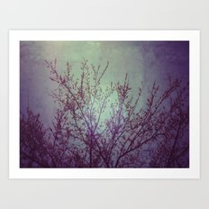 lilac in the air Art Print