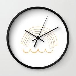 Geometric Abstract 22 #minimalist Wall Clock