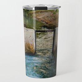 Water pumped Travel Mug
