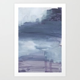 Number 80 Abstract Sky Art Print