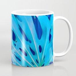 Monstera Blue Coffee Mug