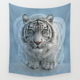 White Tiger - Wild Intentions Wall Tapestry