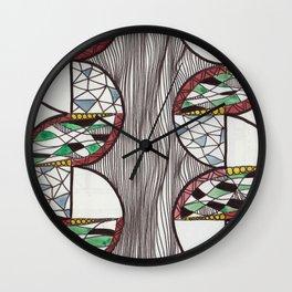 Curves Wall Clock