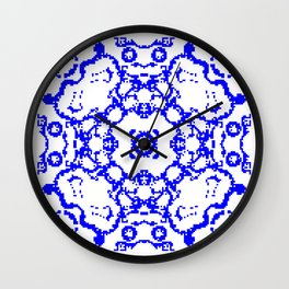 CA Fantasy Blue series #3 Wall Clock