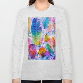 spring feathers Long Sleeve T-shirt