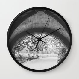 Strolling through Prospect Park Wall Clock