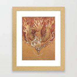 Flight to Destiny Framed Art Print