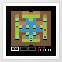 Minimal NES: Star Tropics Art Print