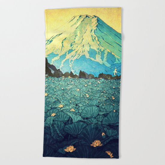 Waddling through Kennijo Lake Beach Towel
