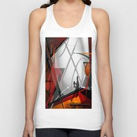 basketball Tank Tops featuring Basketball by Tami Cudahy