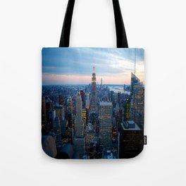 New York City Dusk Tote Bag