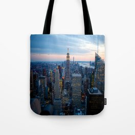 New York City Dusk Tote Bag