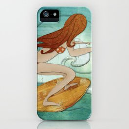 Life is a wave. iPhone Case