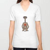 et V-neck T-shirts featuring ET by V.L4B