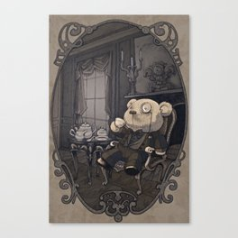 Stefan the Bear Canvas Print