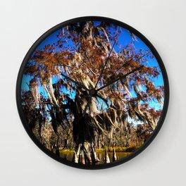 Cypress Tree - Lake Martin LA Wall Clock