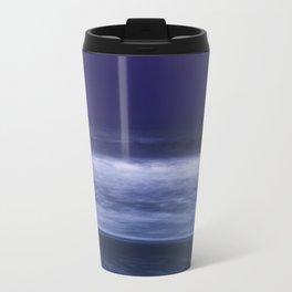 la mer en violet, purple waves Travel Mug