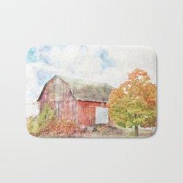Autumn Barn Bath Mat