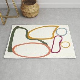 Colorful Flow III Rug