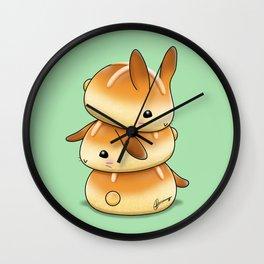 Hot Cross Bunbuns Wall Clock