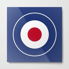 RAF Type D Roundel Metal Print