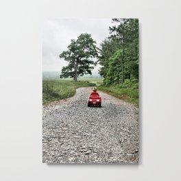 Running Away Metal Print