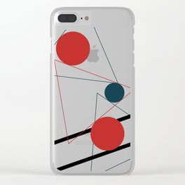Abstract Geometry #geometrical #illustration #art Clear iPhone Case